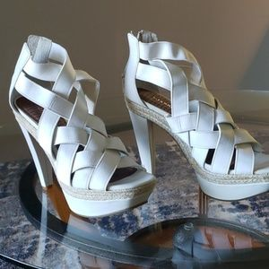 Gianni Bini Shoes - Gianni Bini platform bandage high heel